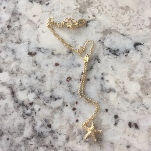 Juicy Couture starfish necklace
